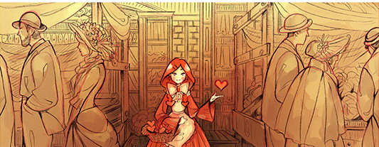 Hearts for Sale webcomic banner image