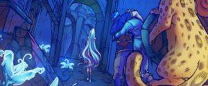 Amya webcomic