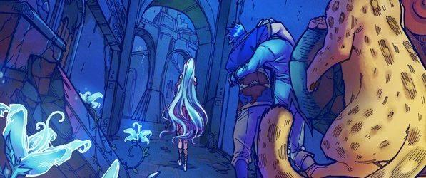 Amya webcomic banner image