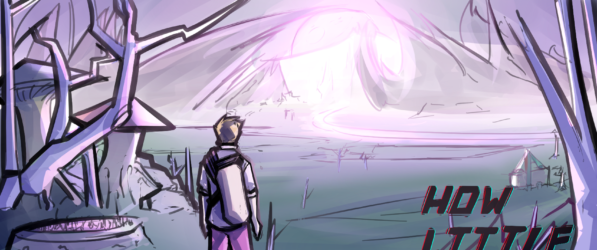 How Little We Know webcomic banner image