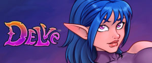 Delve webcomic banner image