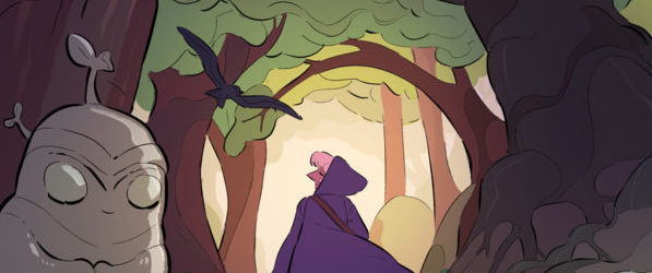 Witchy webcomic banner image