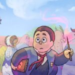Manners' Magical Monster School webcomic banner image
