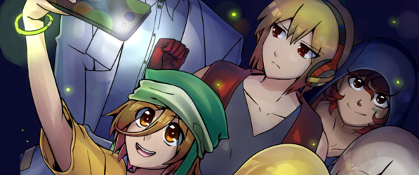 Inter-Dimensional Academy webcomic banner image