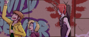 Crimson Wings webcomic banner image