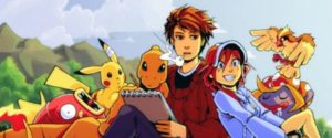 Mokepon webcomic banner image