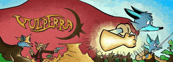 Vulperra webcomic banner image