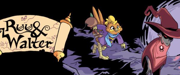 Ruu & Walter webcomic banner image