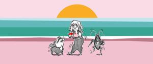 Eerily Lovely webcomic banner image