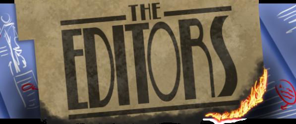 The Editors webcomic banner image