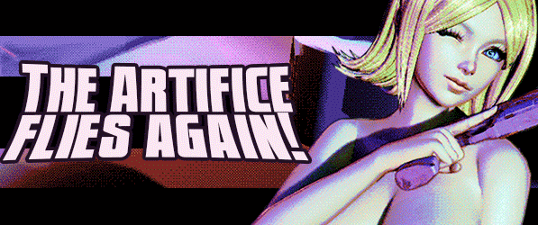 The Artifice Flies Again! webcomic banner image