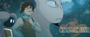 Cosmic Fish webcomic banner image