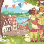 Balderdash: A Tale of Two Witches webcomic banner image