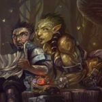 Orc and Gnome's Mild Adventures webcomic banner image