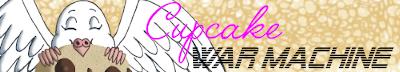 Cupcake War Machine webcomic banner image