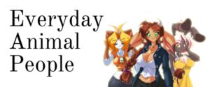 Everyday Animal People webcomic banner image