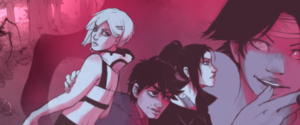 Underworld Engine webcomic banner image