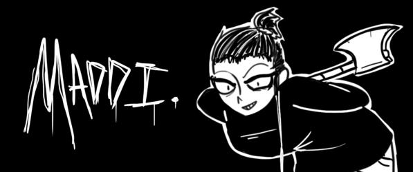 Maddi. webcomic banner image