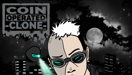 Coin Operated Clone webcomic banner image