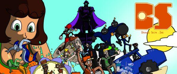 Bronze Skin Inc. webcomic banner image