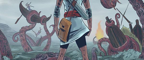 Theseus webcomic banner image