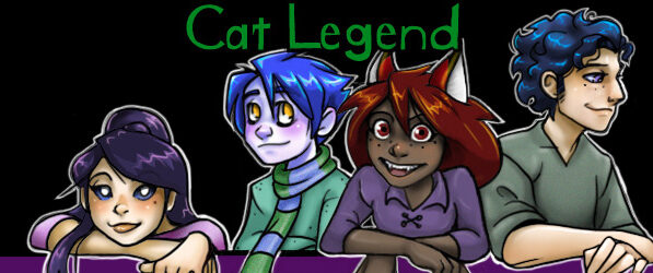 Cat Legend webcomic banner image