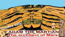Adam the Martian. The Architect of Mars webcomic banner image