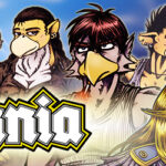Avania webcomic banner image