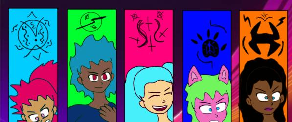 Black Lotus webcomic banner image