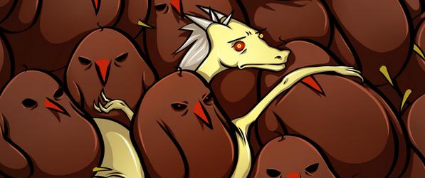 Birbs and Dragons webcomic banner image