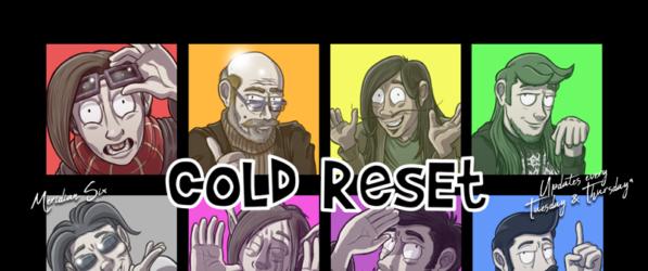 Cold Reset webcomic banner image